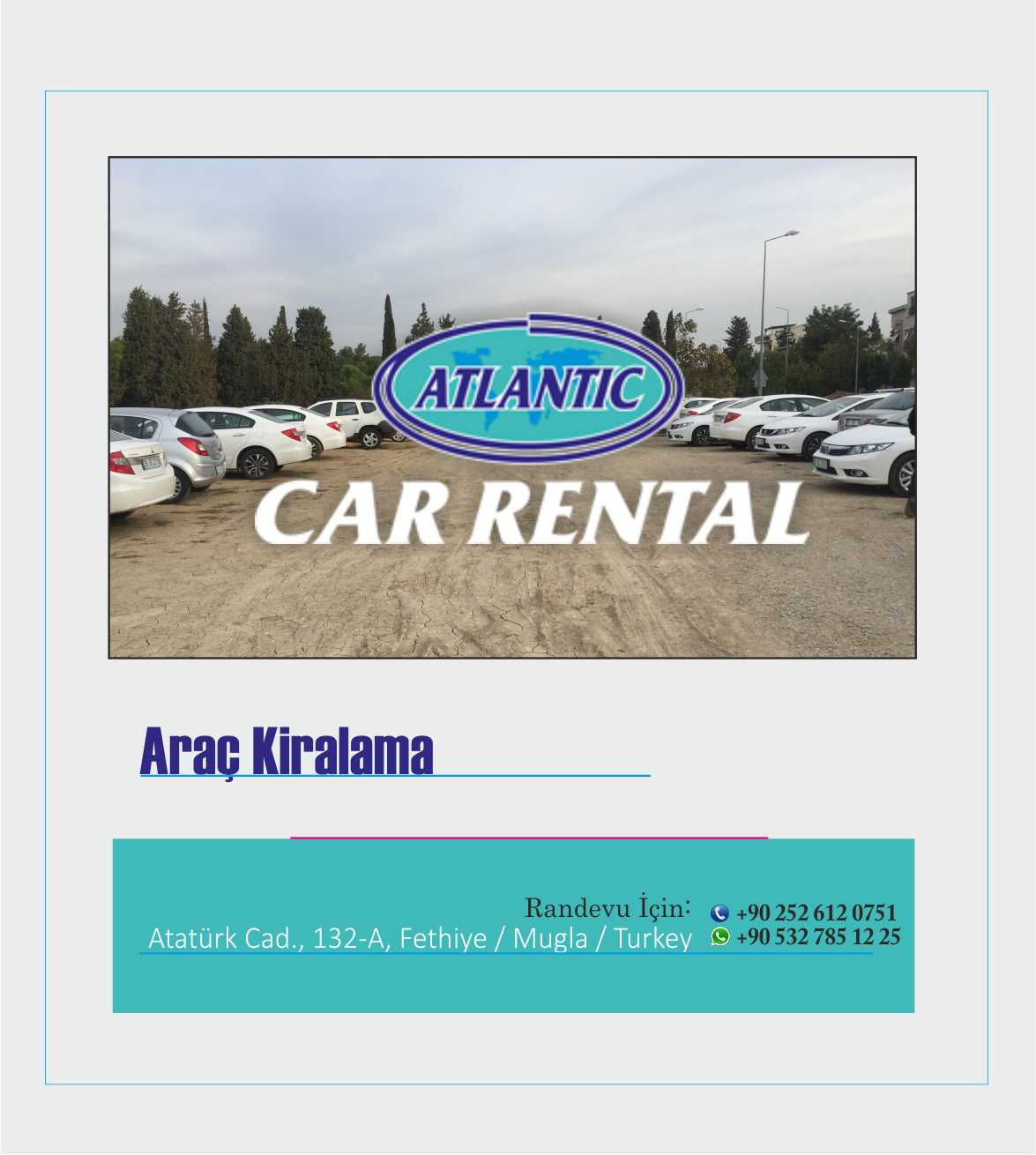 kaş rent a car
