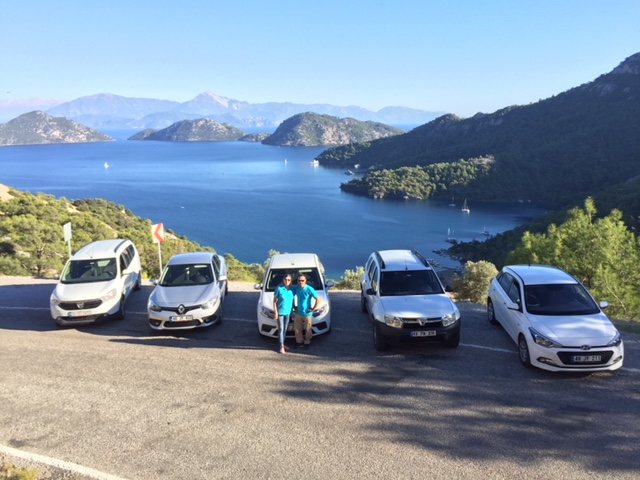 kaş car hire companies